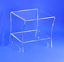 Table de chevet plexiglas