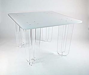 Grande table carrée