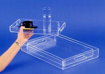 Plateau de table plexiglas