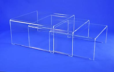 Tables ponts gigognes plexiglass