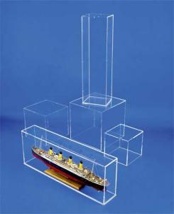 Vitrines cloches standard